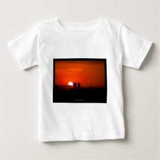The sun 006 - Sunset at the city Baby T-Shirt