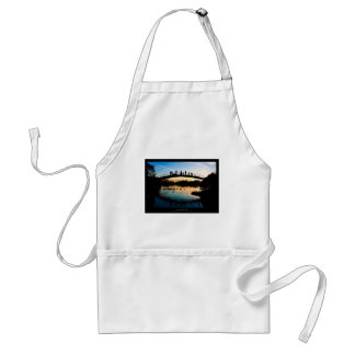 The sun 009 - Sunset at the city Adult Apron