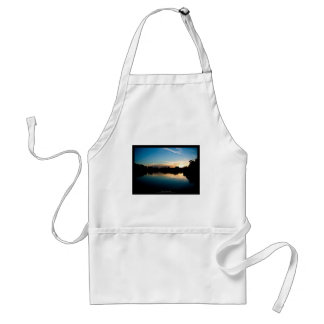 The sun 010 - Sunset at the city Adult Apron