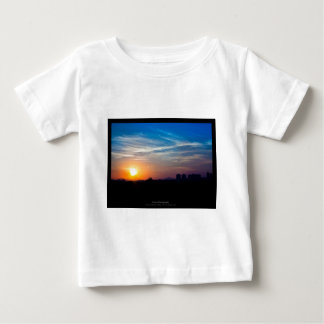The sun 011 - Sunset at the city Baby T-Shirt