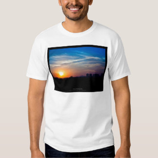 The sun 011 - Sunset at the city Tees
