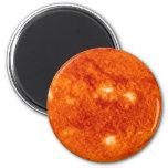 The Sun 2 Inch Round Magnet