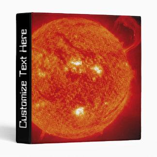 The Sun 3 Ring Binder