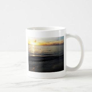 The sun across the Caribbean sea Classic White Coffee Mug