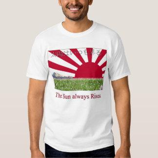 """The Sun always Rises."" Tee Shirt"