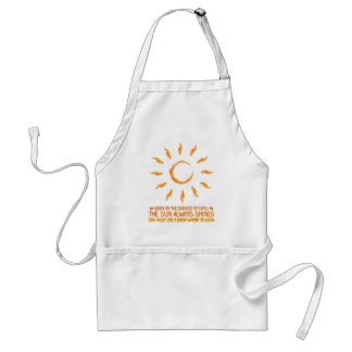 The Sun Always Shines Adult Apron