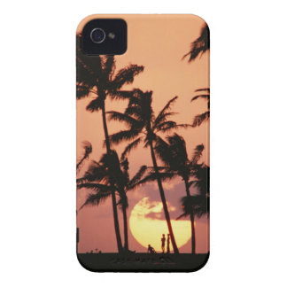 The Sun and Palm Tree Case-Mate iPhone 4 Case