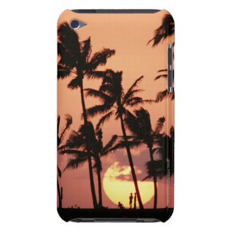 The Sun and Palm Tree iPod Case-Mate Case