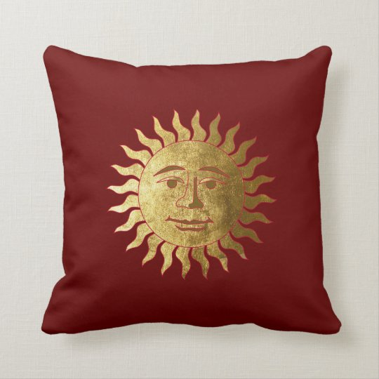 The Sun and the Moon Throw Pillow