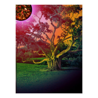The Sun and The Tree Poster