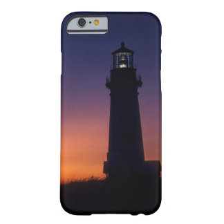 The sun ball drops down on the colorful horizon barely there iPhone 6 case