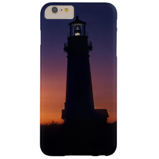 The sun ball drops down on the colorful horizon barely there iPhone 6 plus case