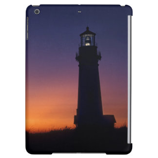 The sun ball drops down on the colorful horizon case for iPad air