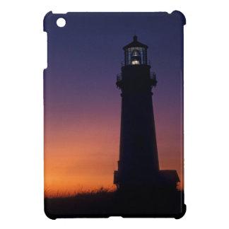 The sun ball drops down on the colorful horizon iPad mini covers