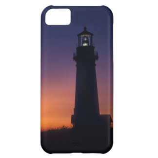 The sun ball drops down on the colorful horizon iPhone 5C case