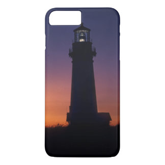 The sun ball drops down on the colorful horizon iPhone 7 plus case