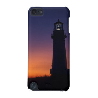 The sun ball drops down on the colorful horizon iPod touch 5G cover