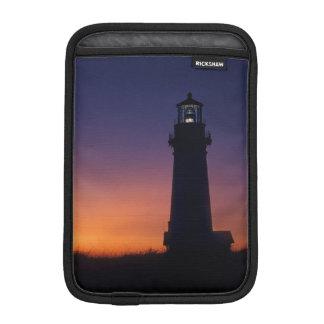 The sun ball drops down on the colorful horizon sleeve for iPad mini