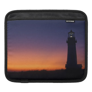 The sun ball drops down on the colorful horizon sleeve for iPads