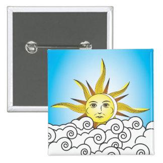 THE SUN BUTTON