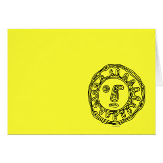 The Sun... Stationery Note Card