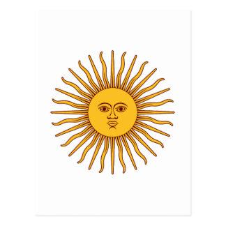 THE SUN del ~ de MAYO (solenoide De Mayo) Postal