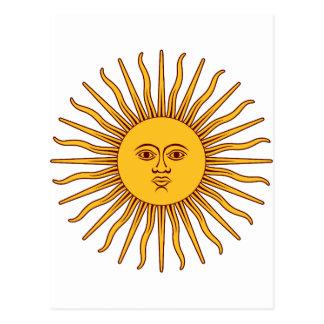 THE SUN del ~~ de MAYO (solenoide De Mayo) Postales