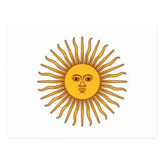 THE SUN del ~ de MAYO (solenoide De Mayo) Tarjeta Postal