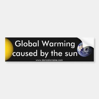 The Sun Did It Bumper Sticker