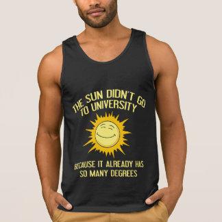 The Sun Didn't Go To University Tanktop