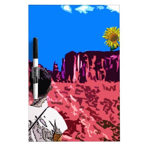 The Sun Flower Dry-Erase Boards