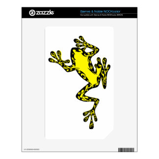 THE SUN FROG NOOK COLOR DECAL