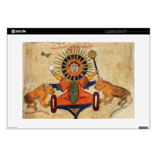 The Sun from Persian Manuscript 373 Decals For Laptops