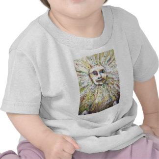 The Sun God expressionism God portrait T-shirts
