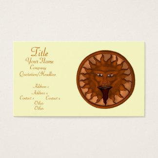 The Sun God (Ra) (Bronze) Business Card