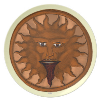 The Sun God (Ra) (Bronze) Party Plates