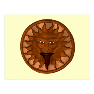The Sun God (Ra) (Bronze) Postcard