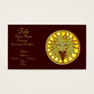The Sun God (Ra) Business Card