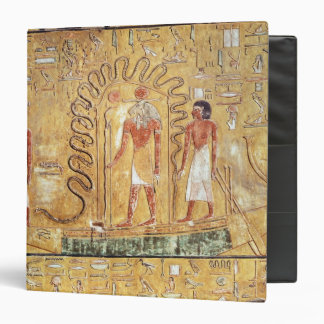 The sun god Ra in his solar barque Binder