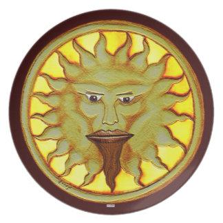 The Sun God (Ra) Plate