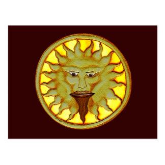 The Sun God (Ra) Postcard