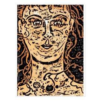 The Sun Godess Postcard