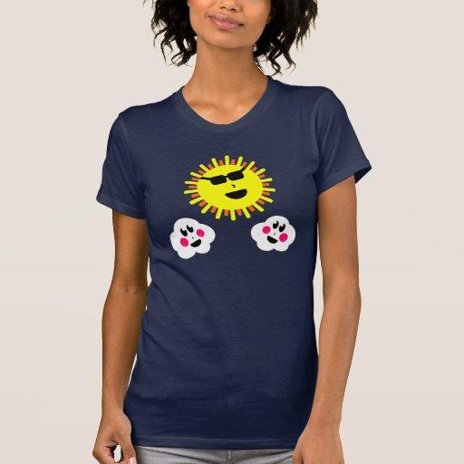 The Sun hace un aspecto Camisetas