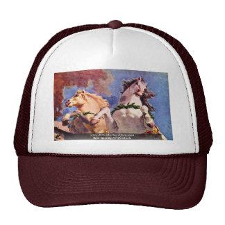 The Sun Horses Of Apollo Mesh Hat