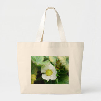 The Sun in a Flower Canvas Bags