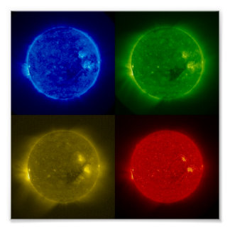 The Sun in Stereo Print