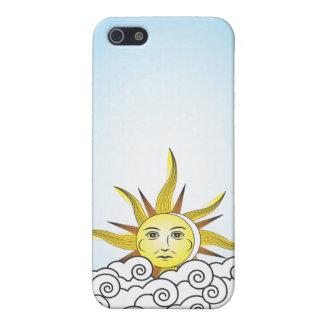 THE SUN iPhone 5 CARCASA