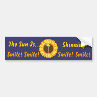The Sun Is Shinning-Customize Bumper Sticker