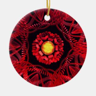 The Sun is the Center Ceramic Ornament