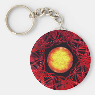 The Sun is the Center Keychain
